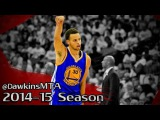 Stephen Curry ALL 98 Three-Pointers in 2015 Playoffs, Unreal NBA RECORD!