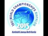 #IBU #Биатлон Чемпионат Мира 2015, Контиолахти, Cпринт Мужчины 07.03.2015