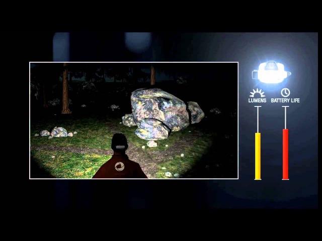 Аккумуляторный фонарь PETZL NAO с технологией REACTIVE LIGHTING