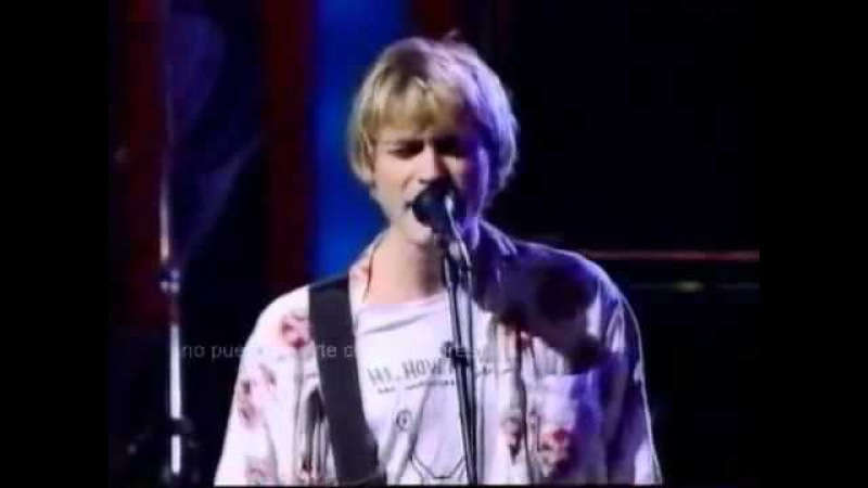 Nirvana - Lithium MTV live 92 Rape me