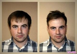 Прически для редких волос для парней