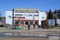 31 марта 2015 - Самарская область: Центр посёлка Новосемейкино весной