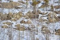 31 марта 2015 - Самарская область: Серный карьер у села Водино зимой