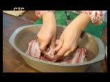 SASHA & КАША. Свиные ребрышки и карпаччо из томатов от
