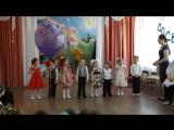 Песня и танец малышей на выпускном