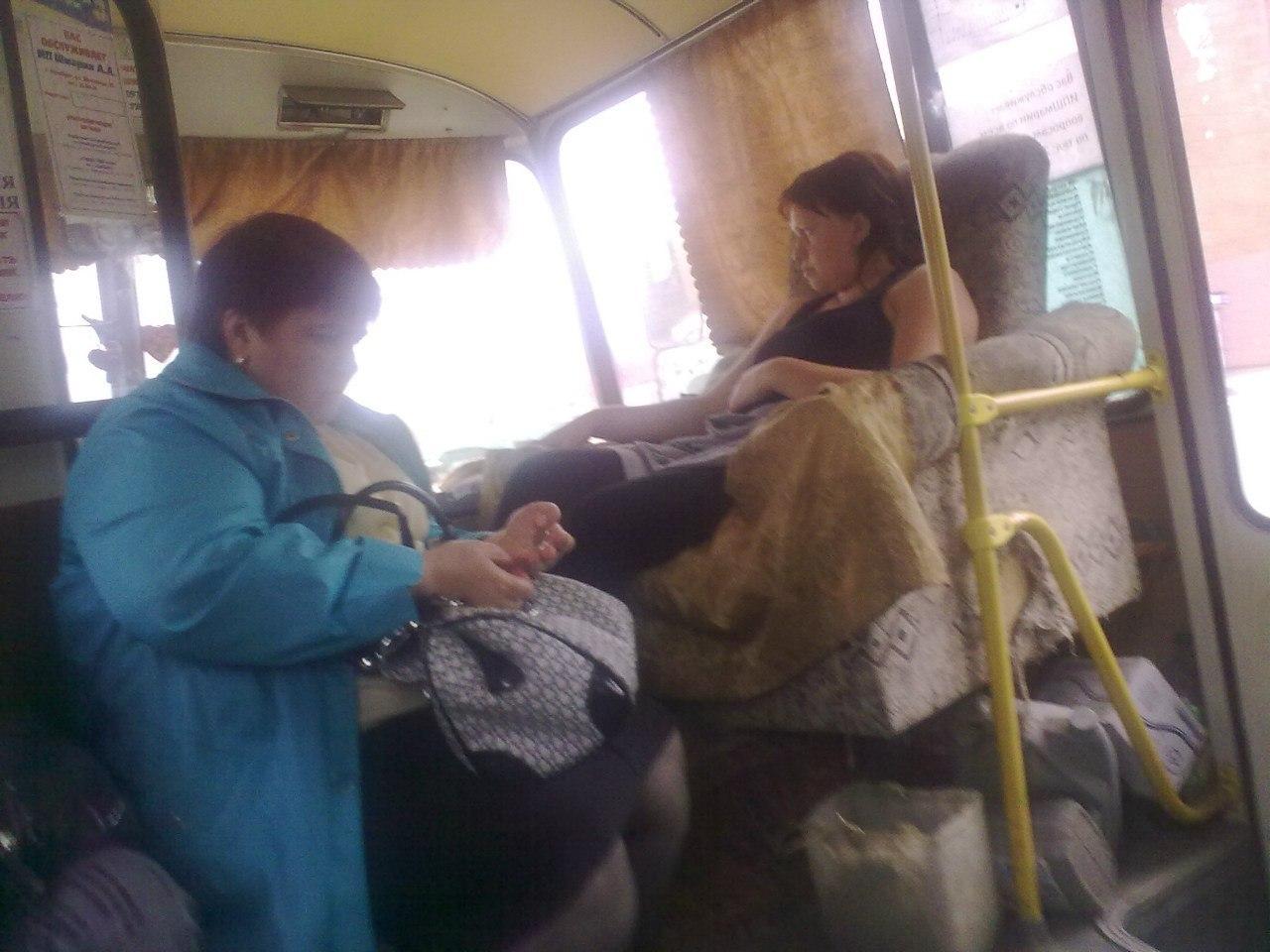 Фото в автобусы дівчата 11 фотография