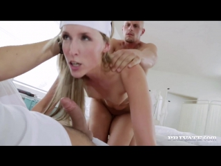 Private_ jenny simons - naughty nurse jenny simons treats two patients to all he