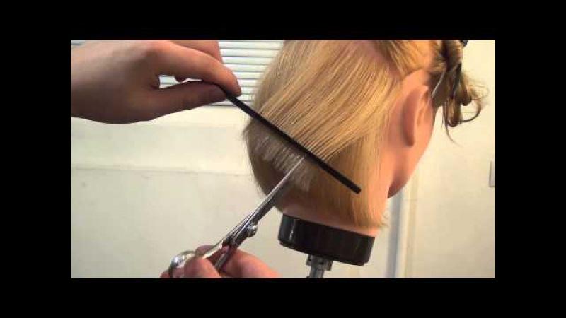 Мастер-класс для парикмахеров по стрижке каре боб Трэйси. Курсы парикмахеров Ар ...