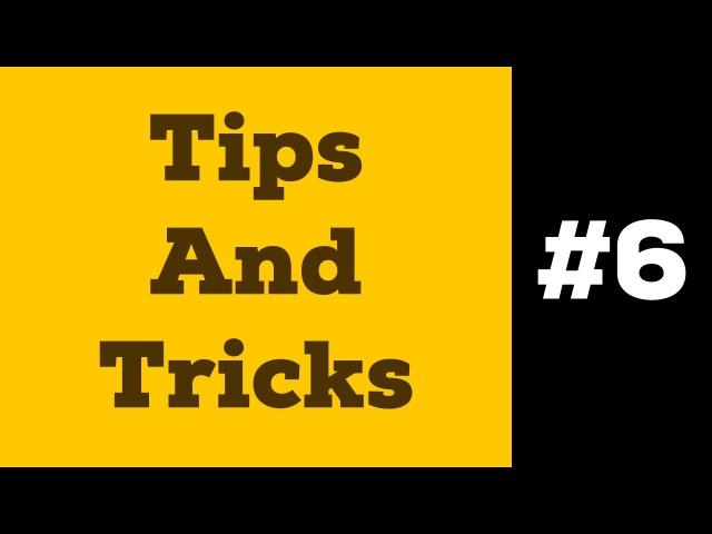 Tips And Tricks 6   Соединенный Контур и Обтравочная Маска