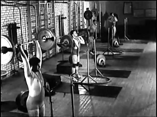 Тяжелая атлетика Техника толчка СоюзСпортФильм 1984