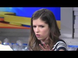 Anna Kendrick talking with Lara Spencer about Into The Woods Cinderella on Good Morning America