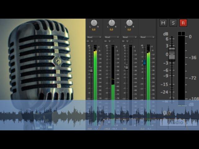Учимся записывать звук с микрофона в программе Adobe Premiere Pro CS4, CS6 Как записать голос