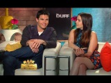 Robbie Amell, Mae Whiteman & Bianca Santos - The DUFF Interviews (MADE IN HOLLYWOOD)