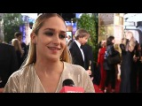 Girls Star Jemima Kirke Talks Meeting Lady Gaga at the Golden Globes