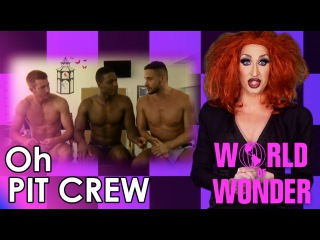 RuPaul's Drag Race Oh Pit Crew with Detox - Meet the New Guy