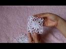 Вязание крючком. Crochet. Соединение цветочных мотивов