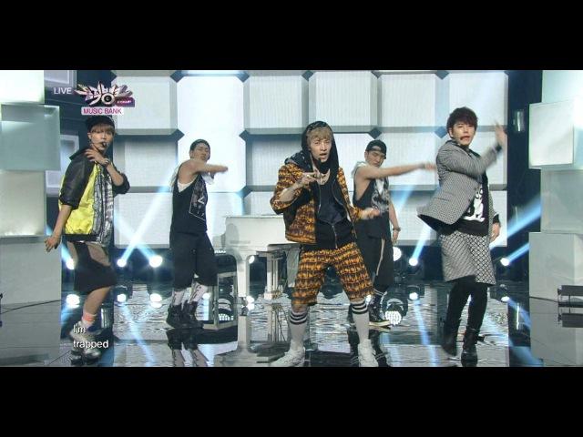 2013 Henry 헨리_TRAP_(with Kyuhyun Taemin)_KBS MUSIC BANK_2013.06.07