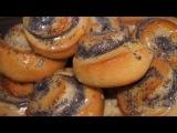 MOHNSCHNECKEN ohne Hefe/ БУЛОЧКИ С МАКОМ бездрожжевые/poppy seed bun