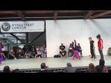 B.Supreme Streetfest 2015 Bgirl 2v2 Finals Eddie & Terra (Soul Mavericks) vs Marta & Nefeli