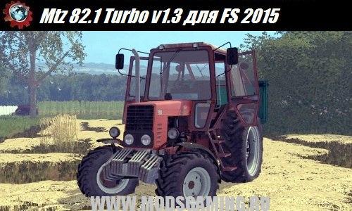 Farming Simulator 2015 download mod tractor Mtz 82.1 Turbo v1.3