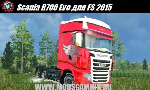 Farming Simulator 2015 download mod truck Scania R700 Evo
