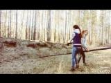 Когда пошол гулять с Бро конником в лес)