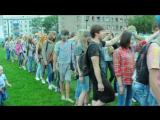 Видео с первого Фестиваля красок в г. Углегорске. Игра