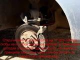 Mitsubishi Lancer 9 (Мицубиси Лансер 9) замена передних тормозных колодок