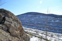03 апреля 2015 - Самарская область: Заброшенный Сокский карьер зимой