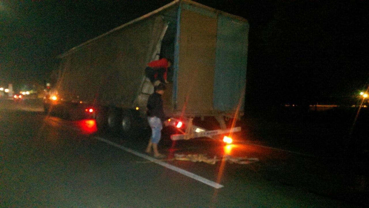 Маршрутка «Ростов-Таганрог» врезалась в фуру, пятеро пострадавших. ВИДЕО