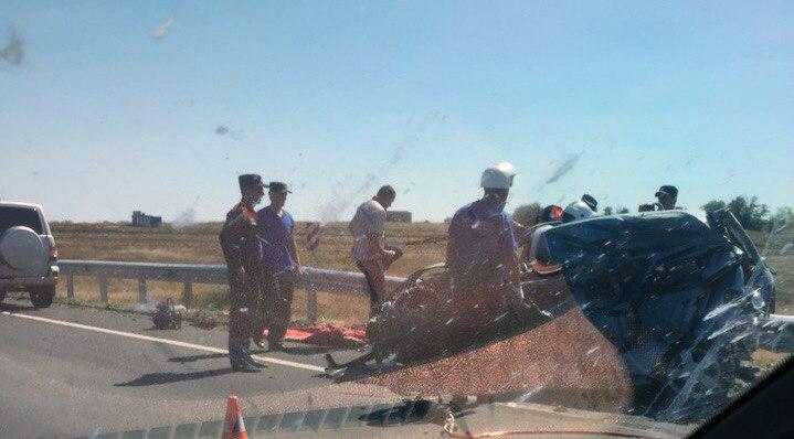 На трассе «Ростов-Таганрог» в районе птицефабрики «Урал» столкнулся с Daewoo Matiz, двое погибших