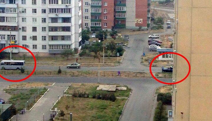 В Таганроге на Простоквашино маршрутка сбила пешехода