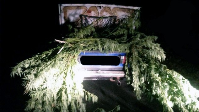 Под Таганрогом ИДПС задержали «шестерку» с полным багажником