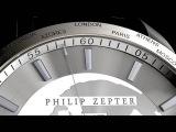 Мужские швейцарские наручные часы-хронограф Philip Zepter GlobHora (ГлобОра)