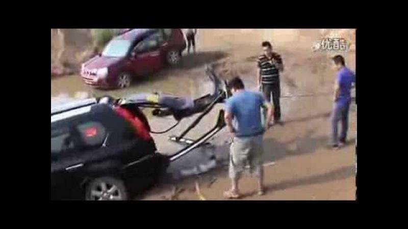 OffRoad 4х4. Китайский джиперы очень суровы :)) Nissan X Trail vs Pajero Extreme 4x4