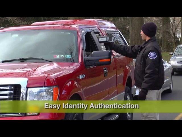 SRI Sarnoff IOM RapID-Cam II Handheld Biometric System Demo