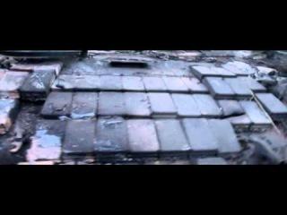Разбитая колонна украинской армии в Лутугино.