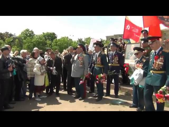 Ветераны Харькова отказались от подачек Хунты. Кашу ела милиция