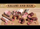 Полимерная глина - КОЛБАСА салями и ветчина / Polymer clay salami and ham / Светлана Няшина