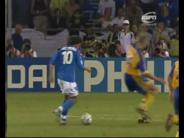 Euro 2000 - Gran goal di Del Piero alla Svezia