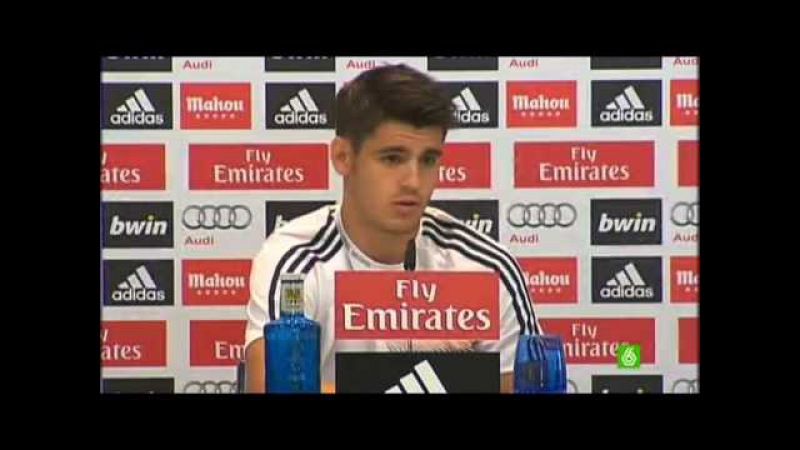 Morata No me imagino un Madrid sin Cristiano Ronaldo