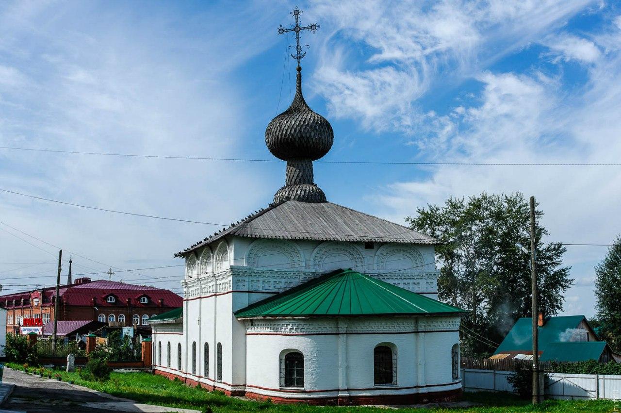 Введенская зимняя церковь бывшего женского монастыря