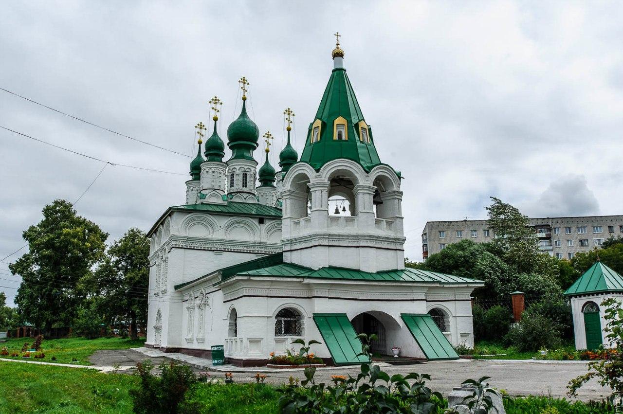 Преображенская летняя церковь бывшего женского монастыря