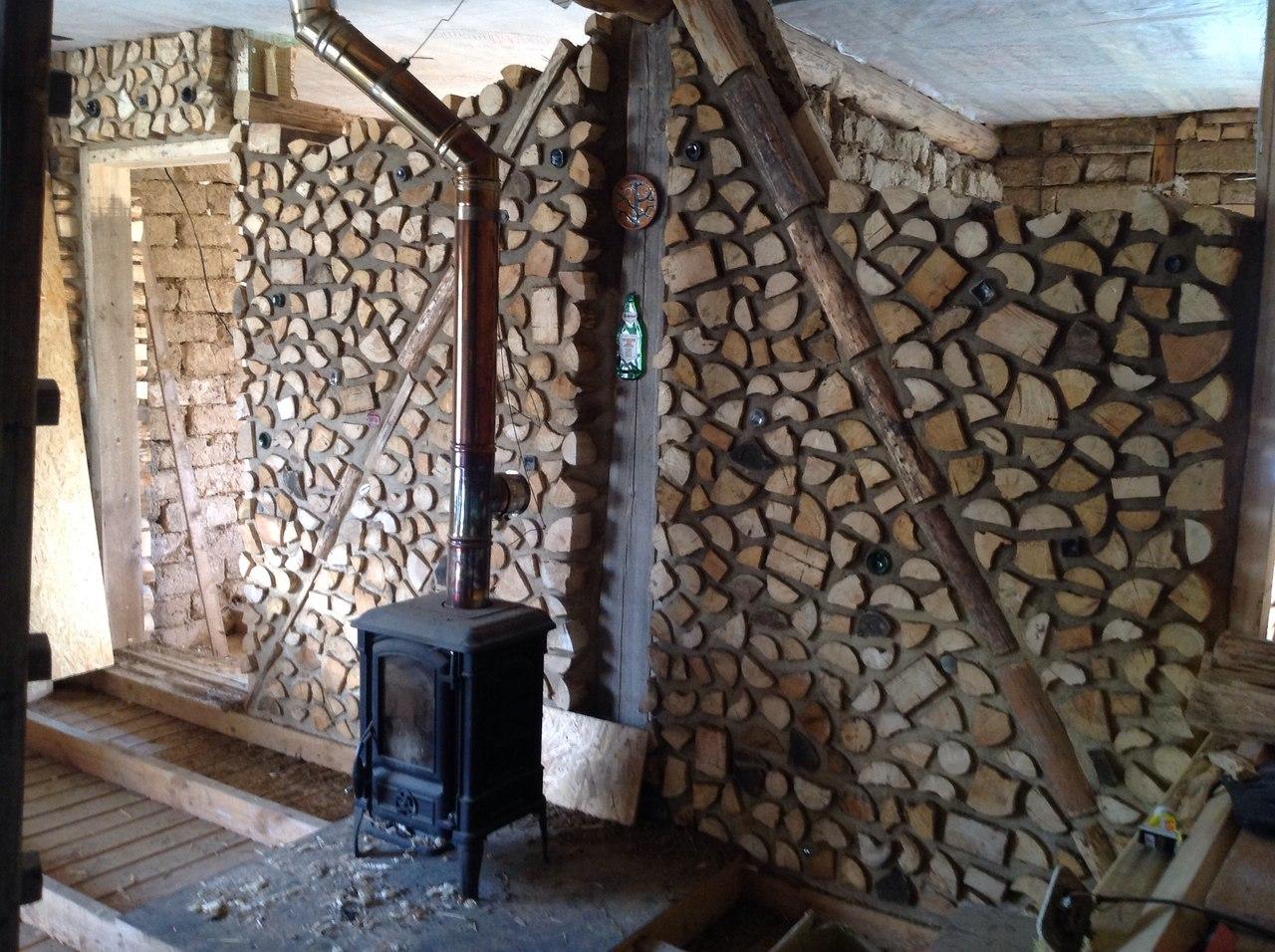 28 домов из дров / Экодом своими руками 31
