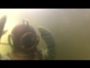Мое погружение в музейном экспонате водолазного дела Трехболтовка.)