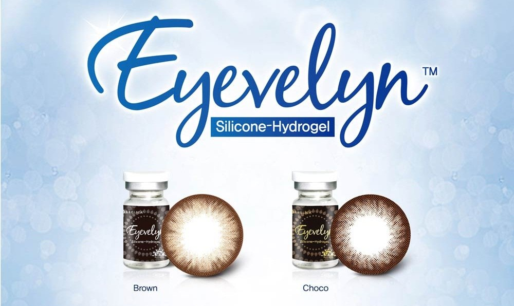Geo Eyevelyn lenses