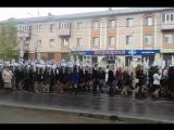 9 мая 2015 Бессмертный полк.г АЛЬМЕТЬЕВСК