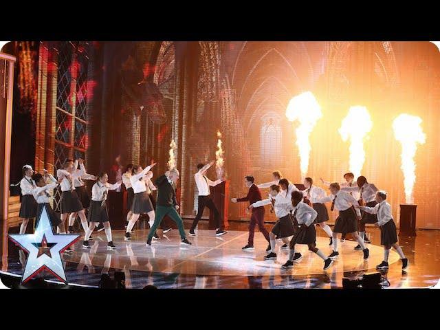 Dance troupe Entity Allstars are magic! | Semi-Final 1 | Britains Got Talent 2015