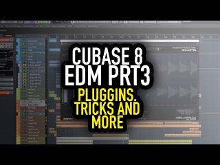 Пишем EDM трек в Cubase Pro 8 (Part №3)