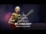 St. Vincent performs